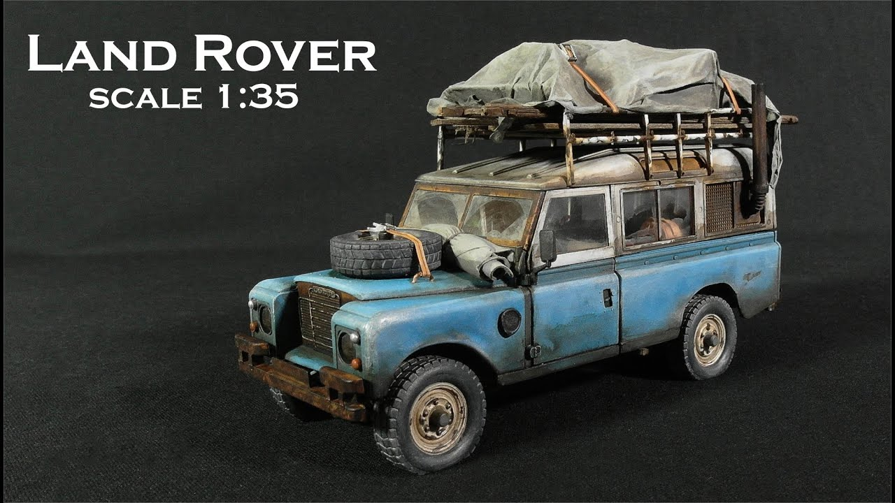 Land Rover 109 from Italeri, for my new diorama in scale 1:35