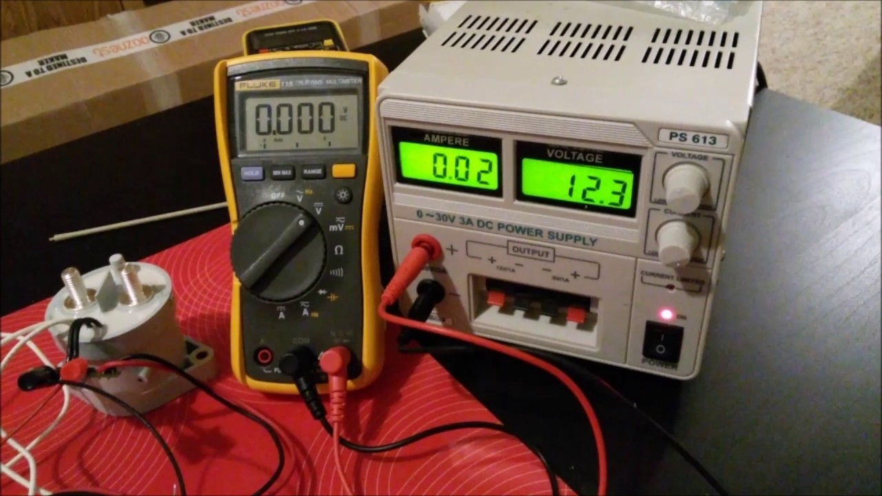 Simple BMS Contactor test