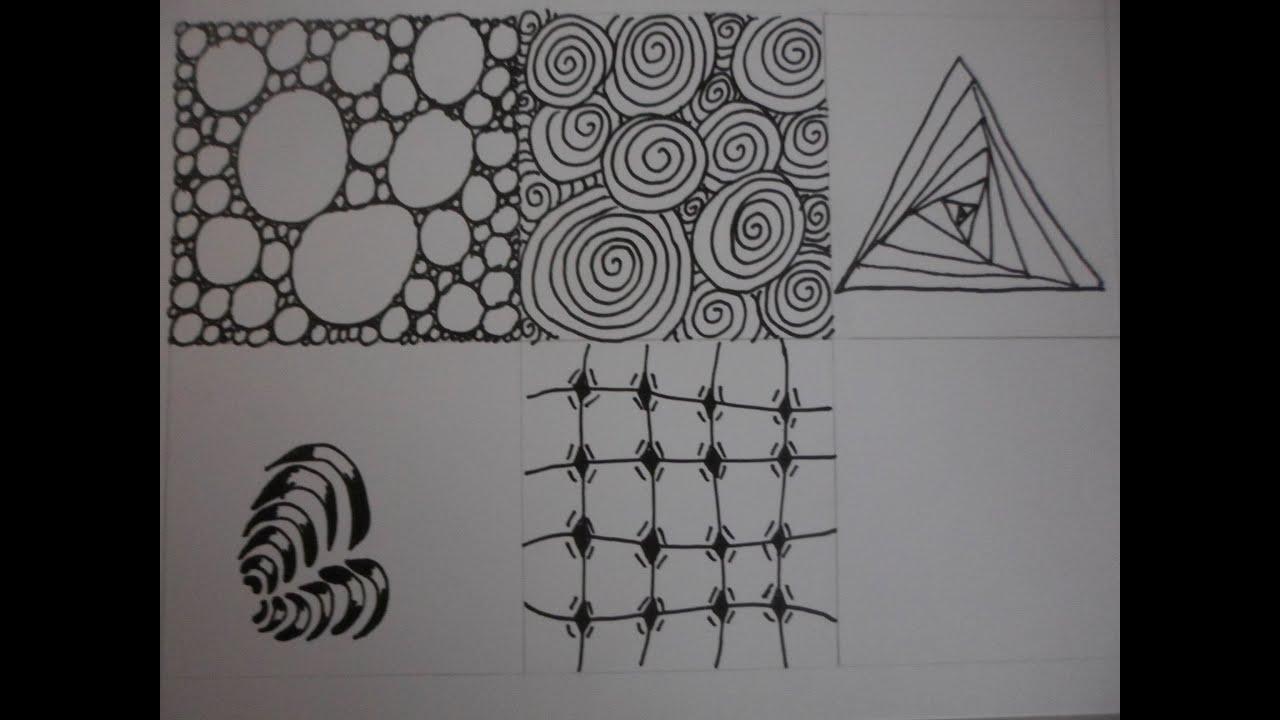 Voorbeelden Zentangle Patterns Zentangle Zentangle Drawings 9