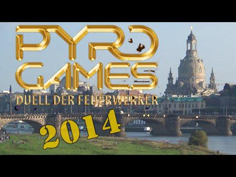 Pyro Games 2014 Dresden Ostragehege + Team 1 Highlights \EffectsFireworkHD/