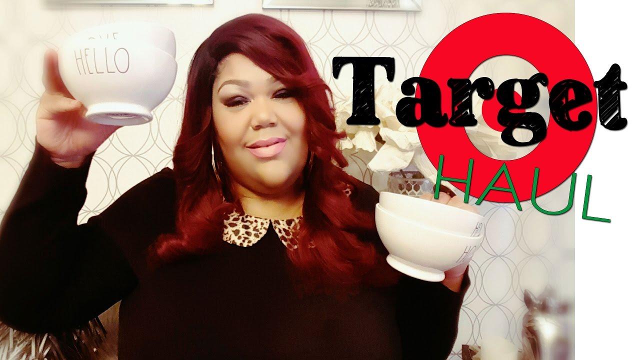 Target dollar spot haul and Rae Dunn bowls - YouTube