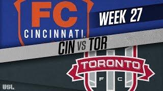 FC Cincinnati vs Toronto FC II: September 16, 2018