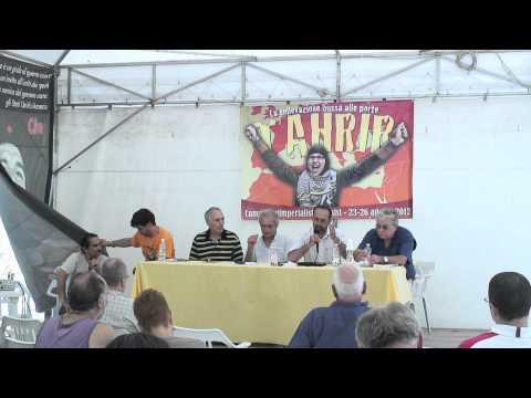 Assisi: Zaher Birawi - Campo anti-Imperialista - Palestine: Gains of the Arab Rebellion
