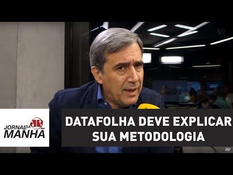 Datafolha deve explicar sua metodologia | Marco Antonio Villa