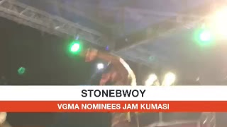 Stonebwoy On Stage
