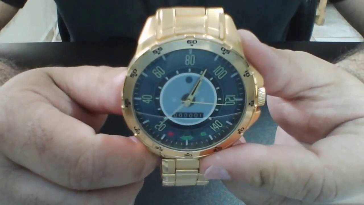0a27749c210 neka relogios relogio dourado painel velocimetro fusca 140km 5776 ...