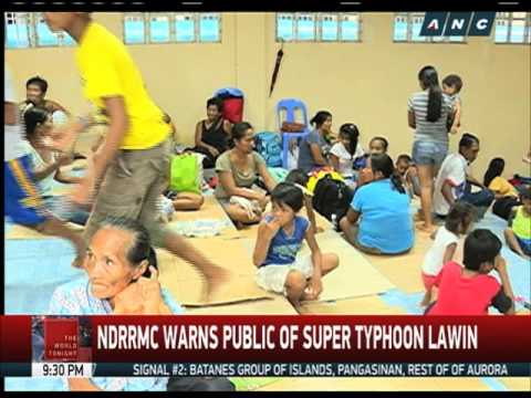 WATCH: The hazards brought by super typhoon Lawin