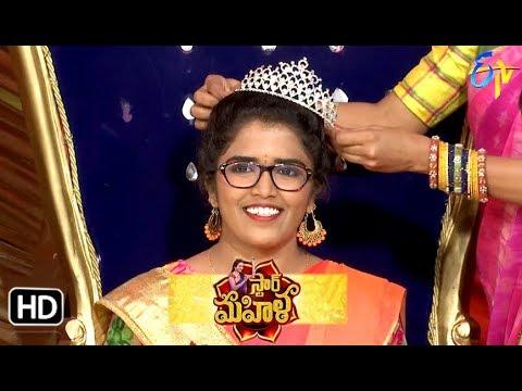 Star Mahila   6th October 2018   Full Episode   ETV Telugu