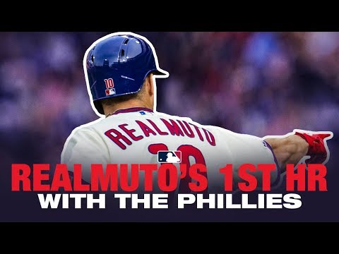 J.T. Realmusto's first home run in a Phillies uniform