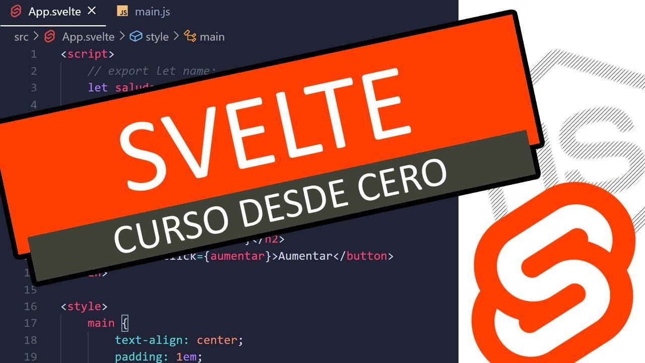 Curso Svelte JS - Stores (writable, derived y Custom stores) #07