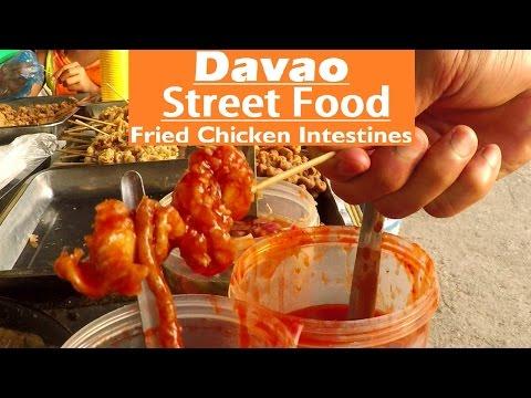 Davao Street Food | Fried Chicken Intestines