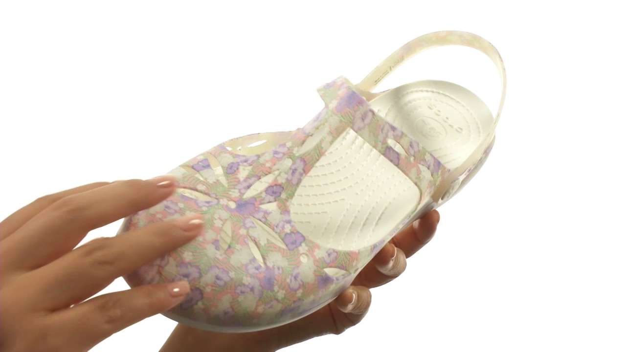41132f91e Crocs Carlie Graphic Cut Out SKU 8804522 - YouTube