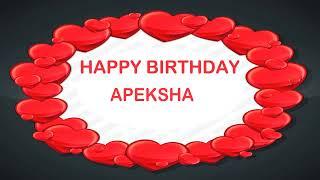 Apeksha   Birthday Postcards & Postales - Happy Birthday