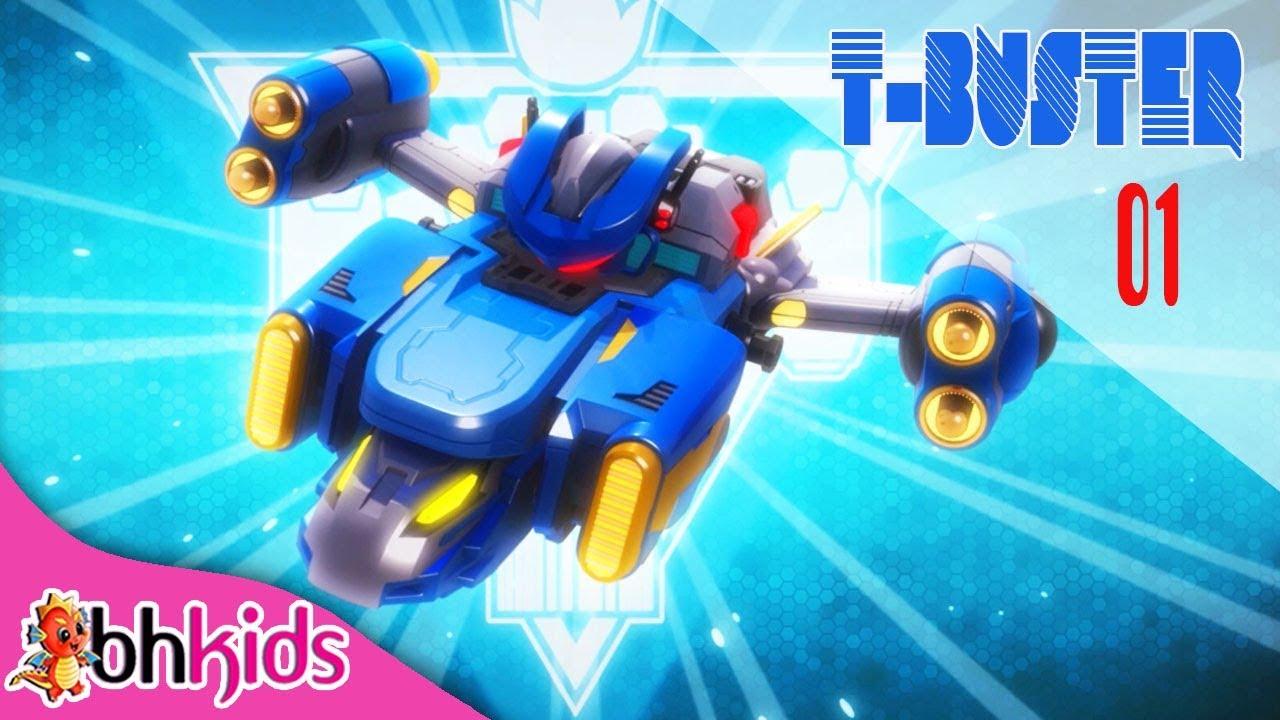 Phim Hoạt Hình Hay – Robot Người Máy TBuster tập 01 | Hoạt Hình Vui Nhộn