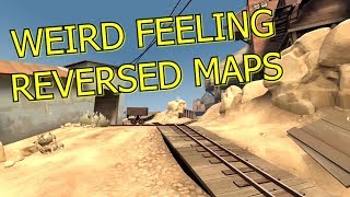 TF2: What happens when you reverse a map? Mirrored wacky maps in Team Fortress 2