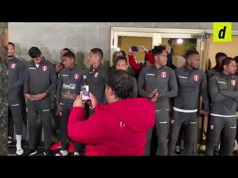 ¡Gestazo! El saludo de la Selección Peruana a los hinchas tras el 'banderazo'