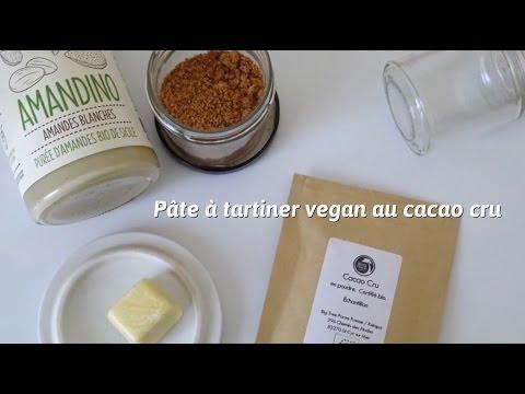 [Recette] Pâte à tartiner vegan au cacao cru