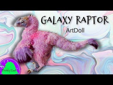 Posable Galaxy Raptor || ArtDoll Tutorial