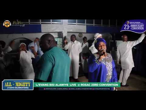Download DR EVANG BISI ALAWIYE ALUKO MINISTERING AT HAVILAH MOUNTAIN OF FIRE (DADDY AND MUMMY OLUBORI)