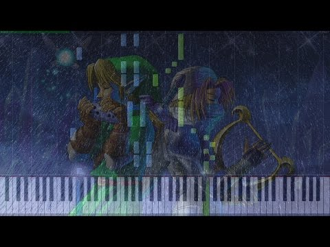The Legend of Zelda - Song of Storms Piano Tutorial ♪ Synthesia + Midi ♪
