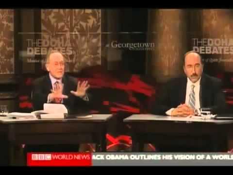 Tough on Israel - Doha Debate 3/4