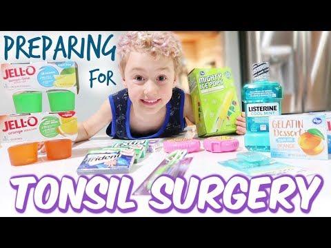 Preparing for Tonsil Surgery!