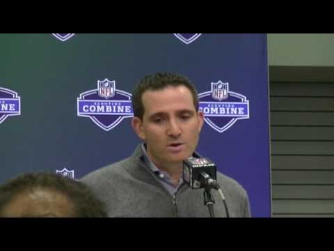 Eagles GM Howie Roseman   2017 NFL Scouting Combine