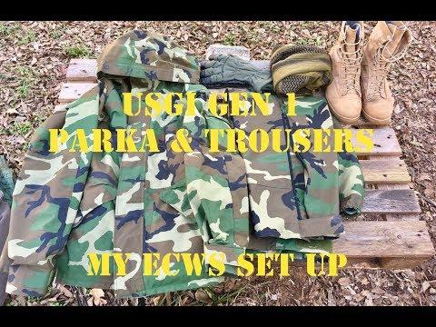 GEN I U.S. Military ECWCS Parka & Trousers - My ECWCS Set Up