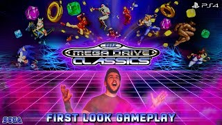 SEGA Mega Drive Classics / Genesis Classics | FIRST LOOK GAMEPLAY & FEATURES (PS4, XBOX ONE)