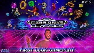 SEGA Mega Drive Classics / Genesis Classics | FIRST LOOK GAMEPLAY & FEATURES (PS4) | NOSTALGIA!!