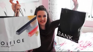Summer Clothes HAUL | Miss Selfridge, Bank, Ark, Urban Decay, Office