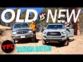 The New Toyota Tacoma Trd Pro Kicks Butt Off Road, But Is The Old Taco Even Better?