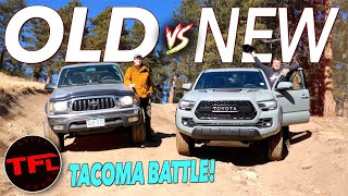 The New Toyota Tacoma TRD Pro Kicks Butt Off-Road, But Is The Old Taco Even Better?