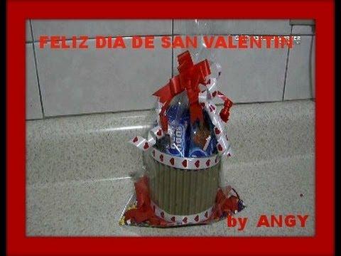 Como hacer una cajita para regalo de san valentin youtube - Como hacer adornos de san valentin ...
