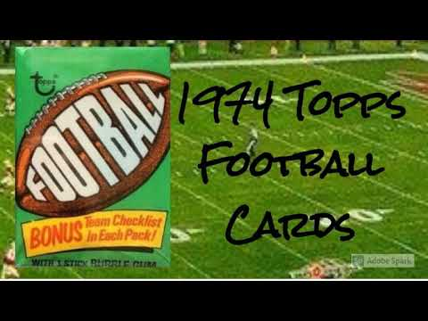 Download 1974 Topps Football Cards - 12 Most Valuable