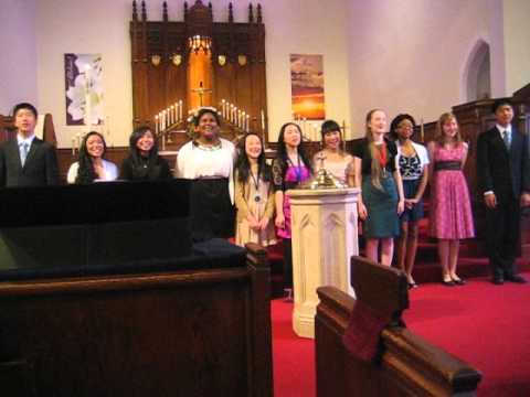 Zion Lutheran School 8th Grade Graduates Sing (5/20/12)