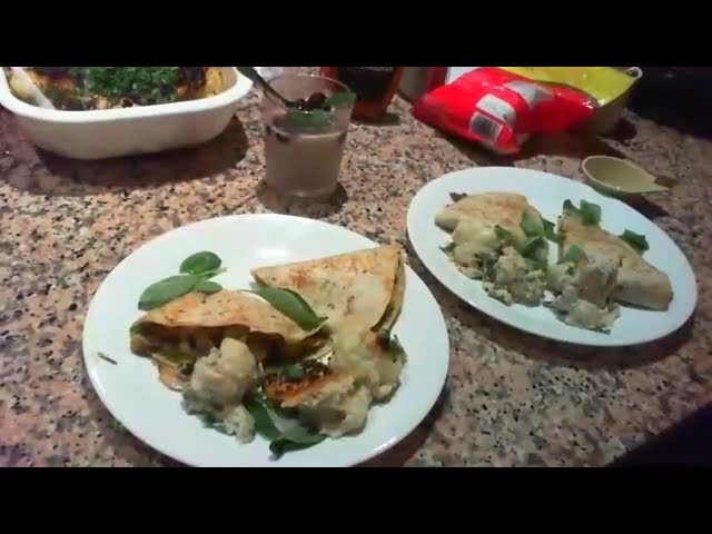 Recipe Club - Mushroom and Avocado Panini / Vegan Cauliflower Cheese / Coconut Chia Pudding
