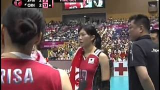 2013 World Grand Prix - Final Round - Japan x China