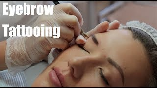 Eyebrow Tattooing - Part 2 (the treatment)