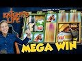 BIG WIN!!! Knights Life Big win - Casino Games - free spins (Online Casino)