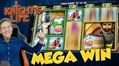 BIG WIN!!! Knights Life Big win - Casino Games - free spins (Online Casino)