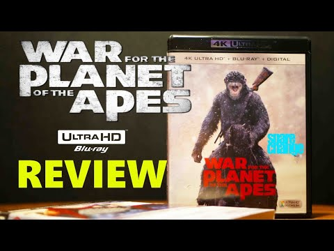 War For The Planet Of The Apes 4K | 3D Bluray Review | Unboxing Dolby Atmos