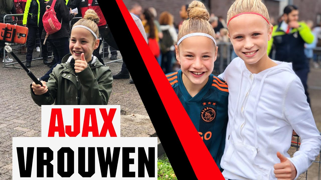 HISTORIE   AJAX - PSV VLOG EREDIVISIE VROUWEN OP TV