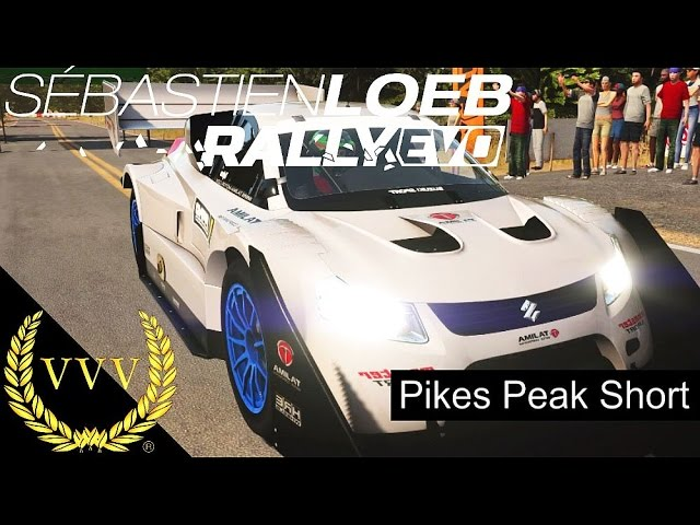 Sebastien Loeb Rally EVO - Pikes Peak Short