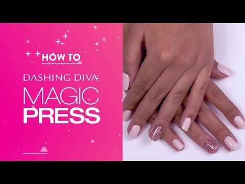 Dashing Diva Magic Press Nails: How To