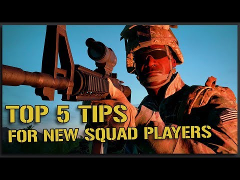 MY TOP 5 BEGINNER TIPS for SQUAD v12 NEW PLAYERS