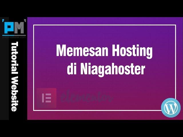 Memesan Hosting di Niagahoster #6