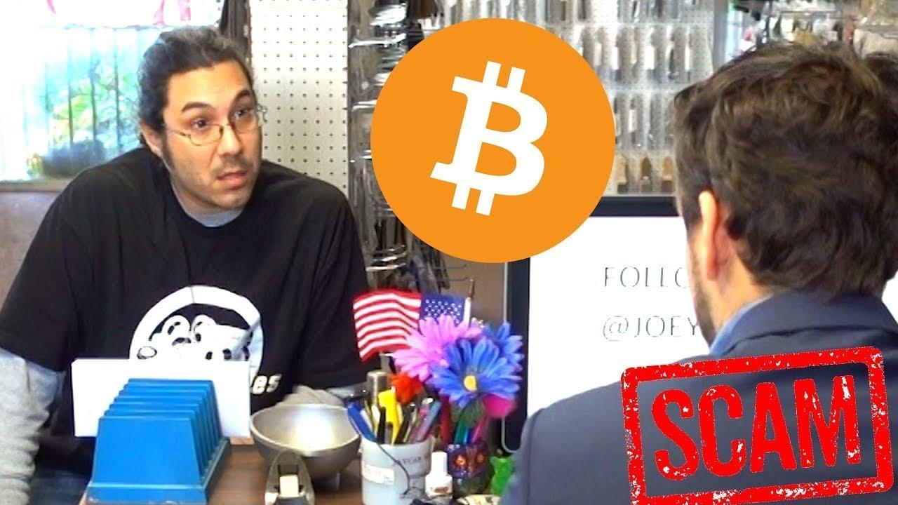 SCAMMING PEOPLE PRANK w/ Bitcoin (BTC)