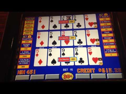 Double Double Bonus Video Poker Triple Play