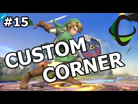 CUSTOM CORNER: Link (Episode 15) - Super Smash Bros Wii U